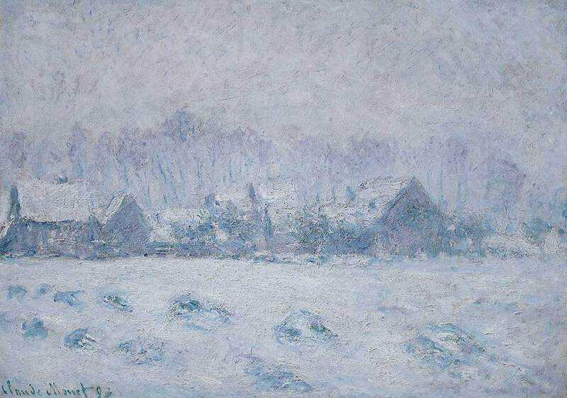 Monet's Snow Effect at Giverny, sold by Christie's New York for $15 million in November 2018