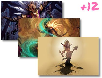 Witch Doctor Diablo Iii theme pack