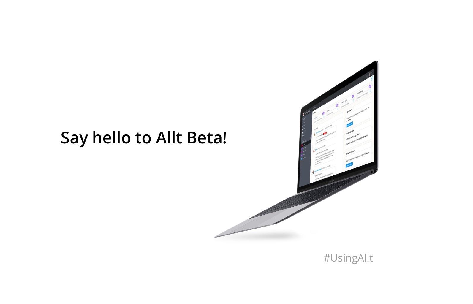 Say hello to Allt Beta
