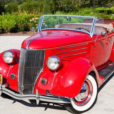 Ford V8 DeLuxe 2 Door Roadster 1936 7