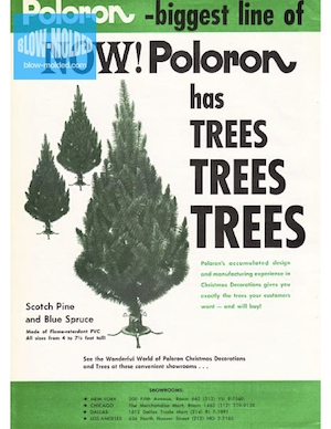 Poloron Products Trees Ad (1969) preview
