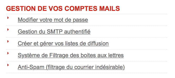 Configuration du SMTP Free.fr sur iPhone