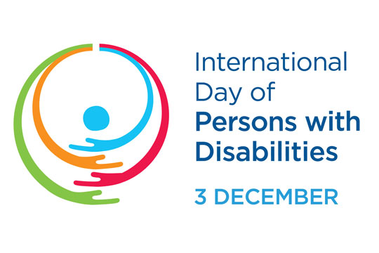 International Day of Persons with Disabilities, December 3