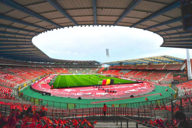 Belgium FA football stadium