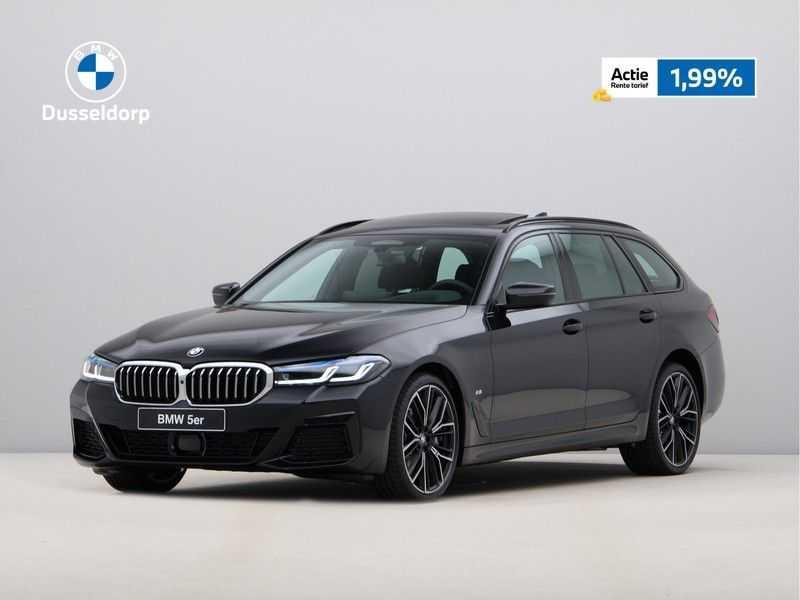 BMW 5 Serie Touring 530d High Exe M-Sport Face-lift ! afbeelding 25
