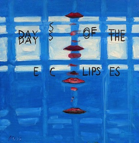 "Kristian Nagel, Estonia. ""Days of the EC Lipses"" 2013. Cardboard, oil, 65x69cm"