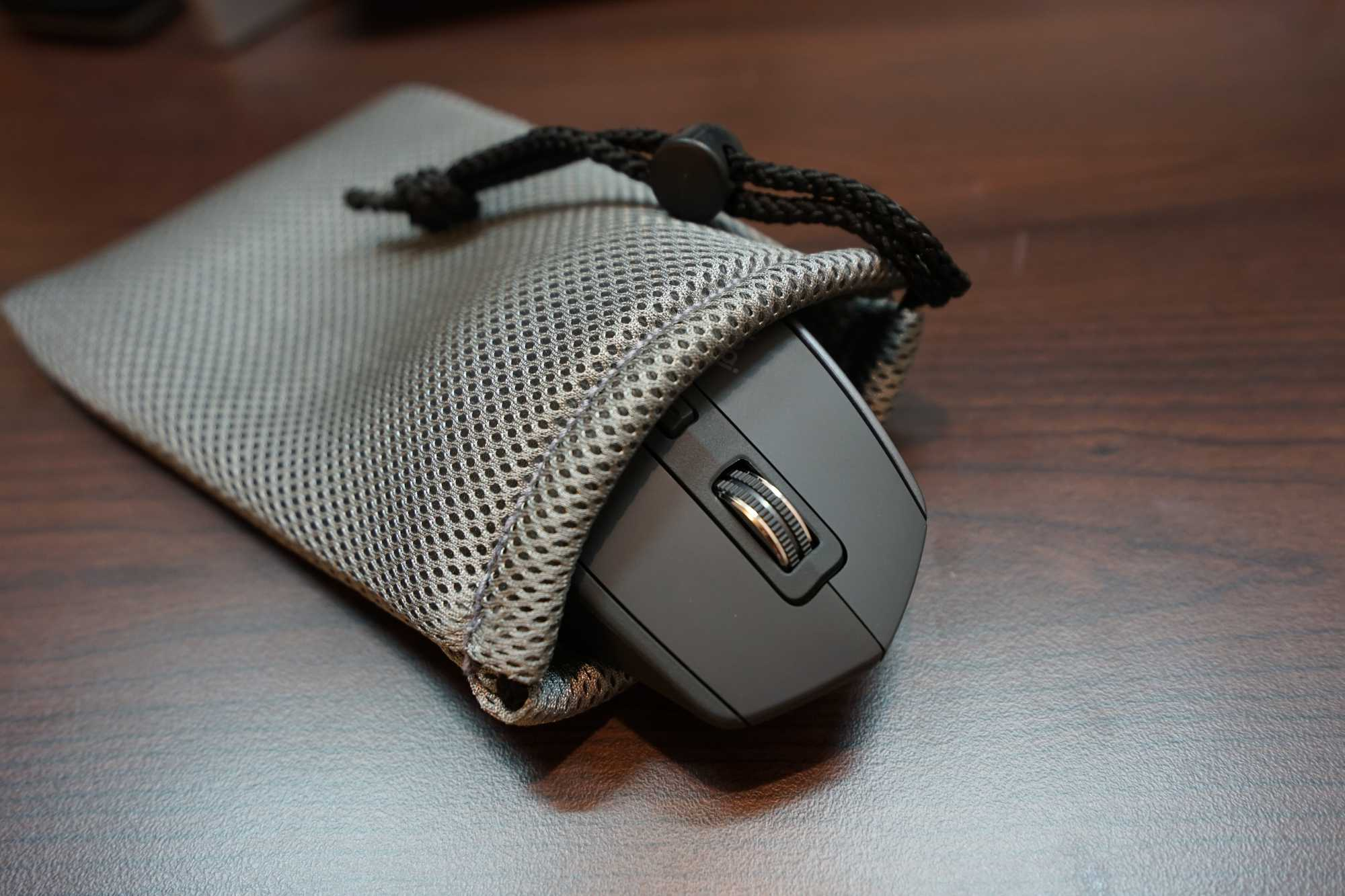 Logitech MX Master 2S in the bag