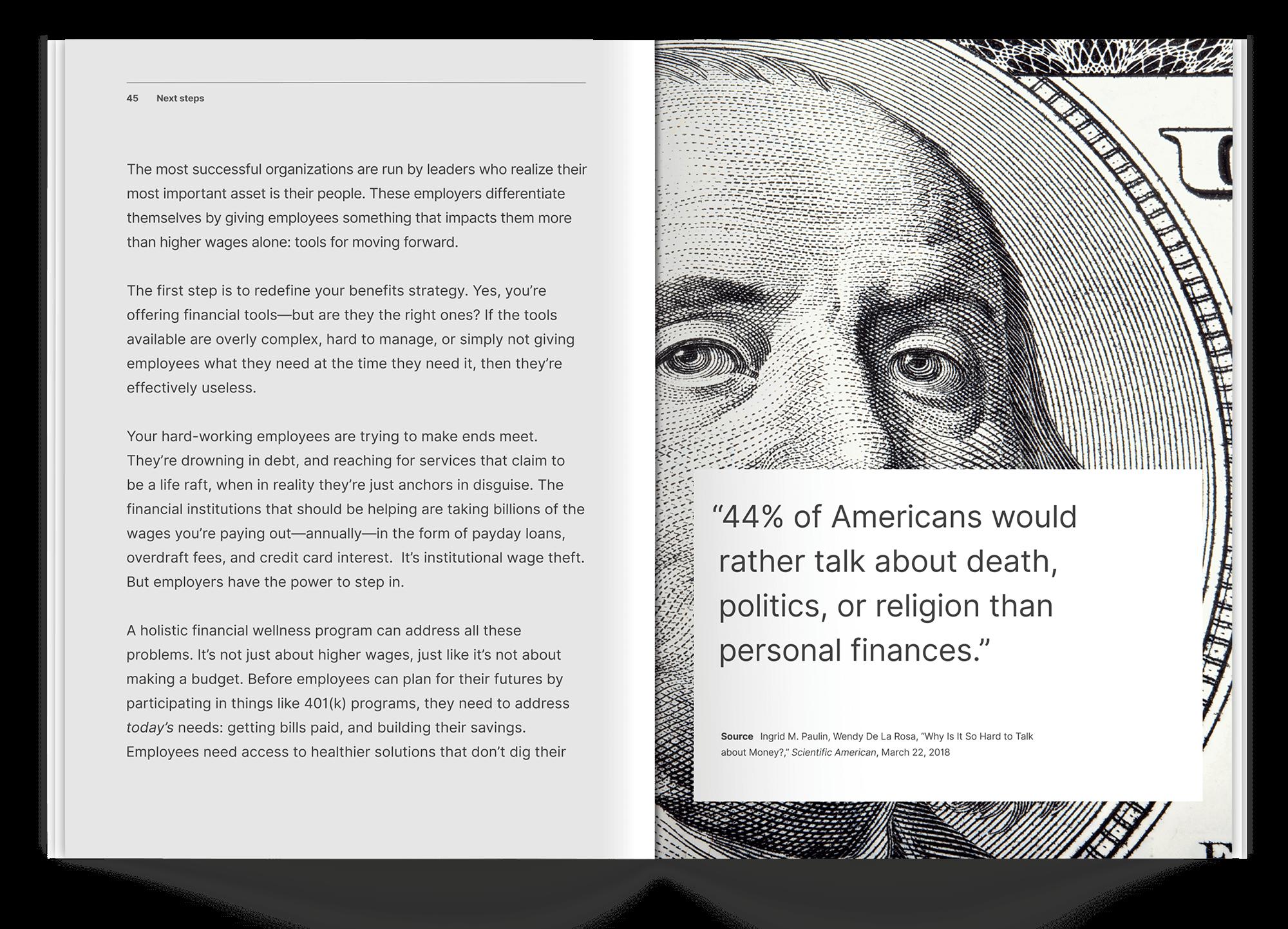 ebook spread