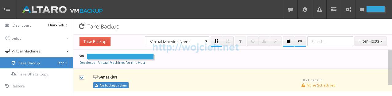 Altaro VMware Backup - 14
