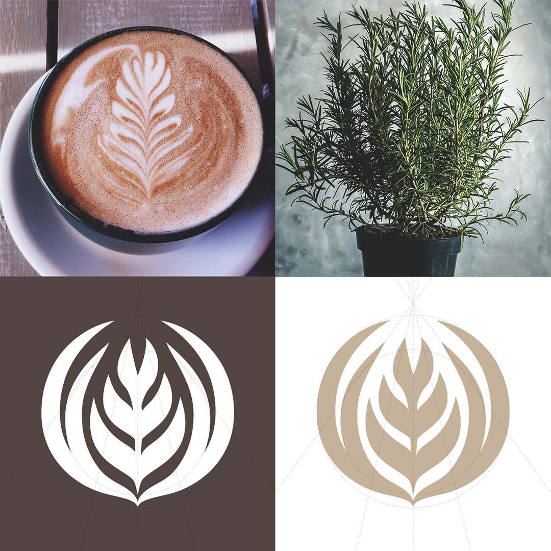 Images of inspriation in designing the logo icon
