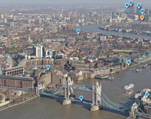 Privelişte de deasupra Londrei