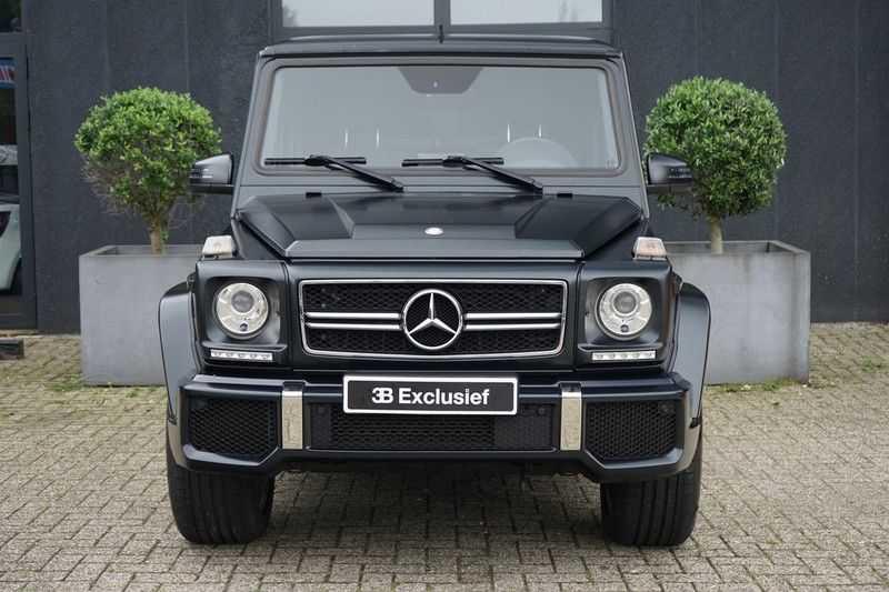 Mercedes-Benz G-Klasse 65 AMG DESIGNO MAGNO NIGHT BLACK afbeelding 10
