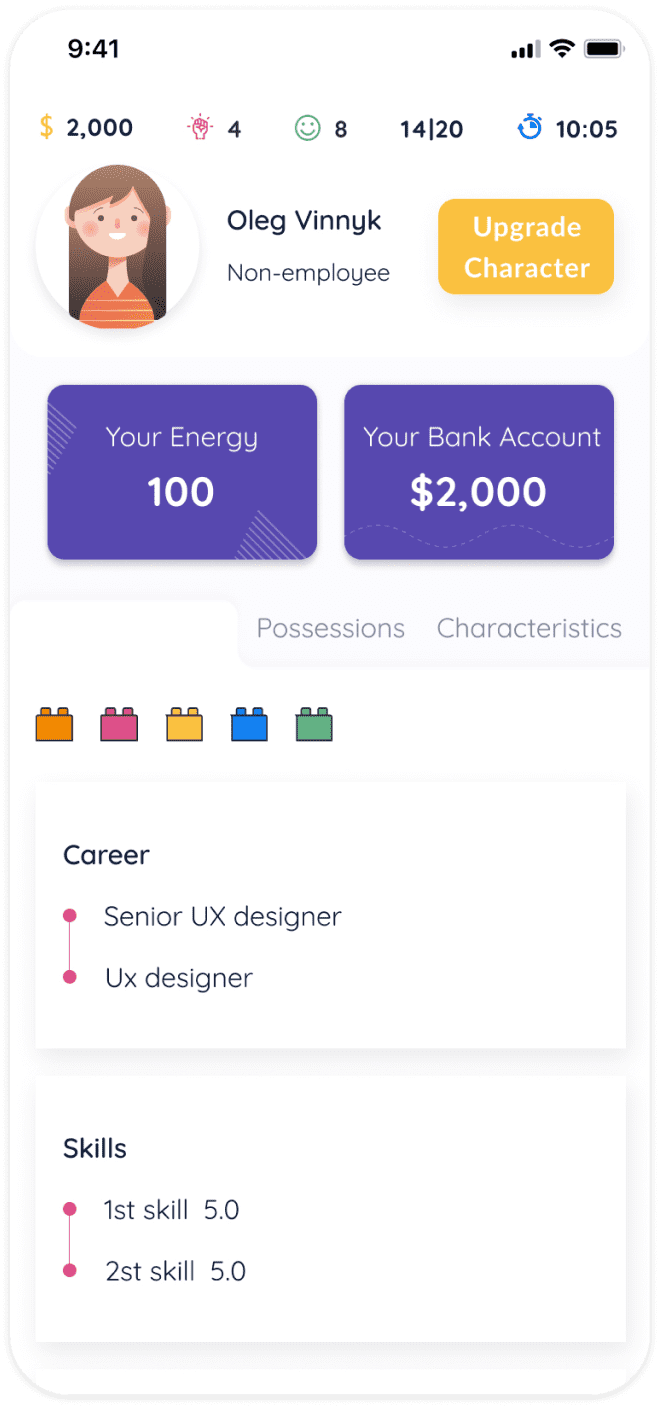 Career emulator apps