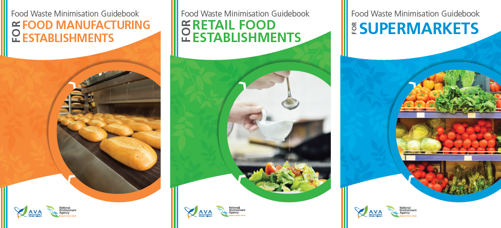 Food waste minimisation guidebooks