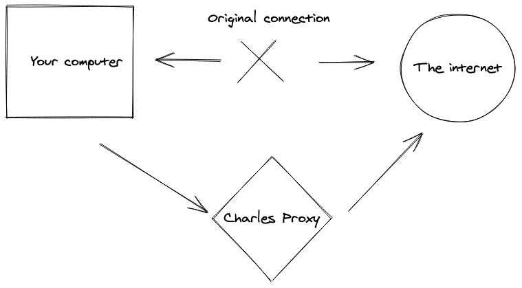 Charles proxy drawing