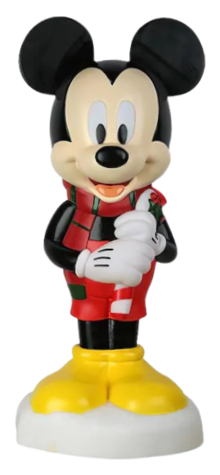 Mickey Mouse with Candy Cane photo