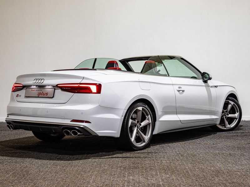 Audi A5 Cabriolet 3.0 TFSI S5 quattro Pro Line Plus 354PK | Adapt.Cruise | Massage Stoelen | 360 Camera | afbeelding 4