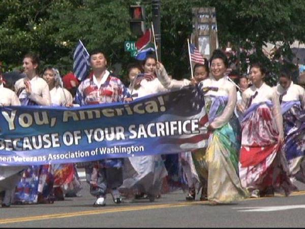 재향군인회 여성회, 메모리얼데이 퍼레이드 참가