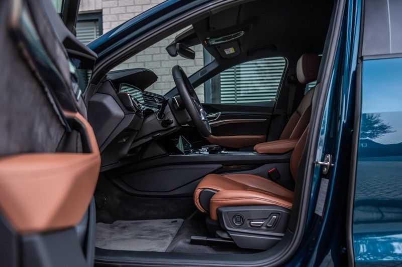 Audi e-tron 55 quattro advanced Pro Line Plus, 408 PK, 4% Bijtelling, Luchtvering, Surround View, Stad/Tour Pakket, B&O, EX. BTW!! afbeelding 5