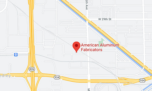 Directions to American Aluminum Fabricators