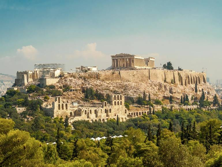Greece Sailing Holidays: The Charms of Athens