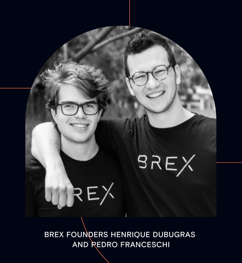 Brex founders