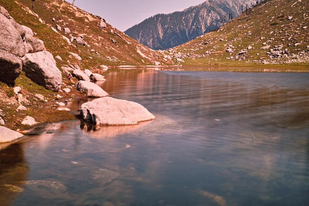 Pristine water at Kareri Lake