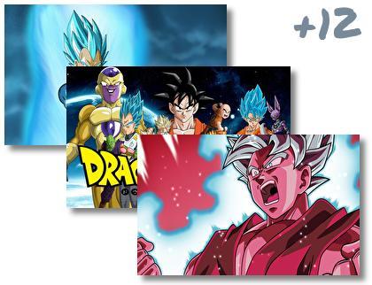 Dragon Ball Super theme pack
