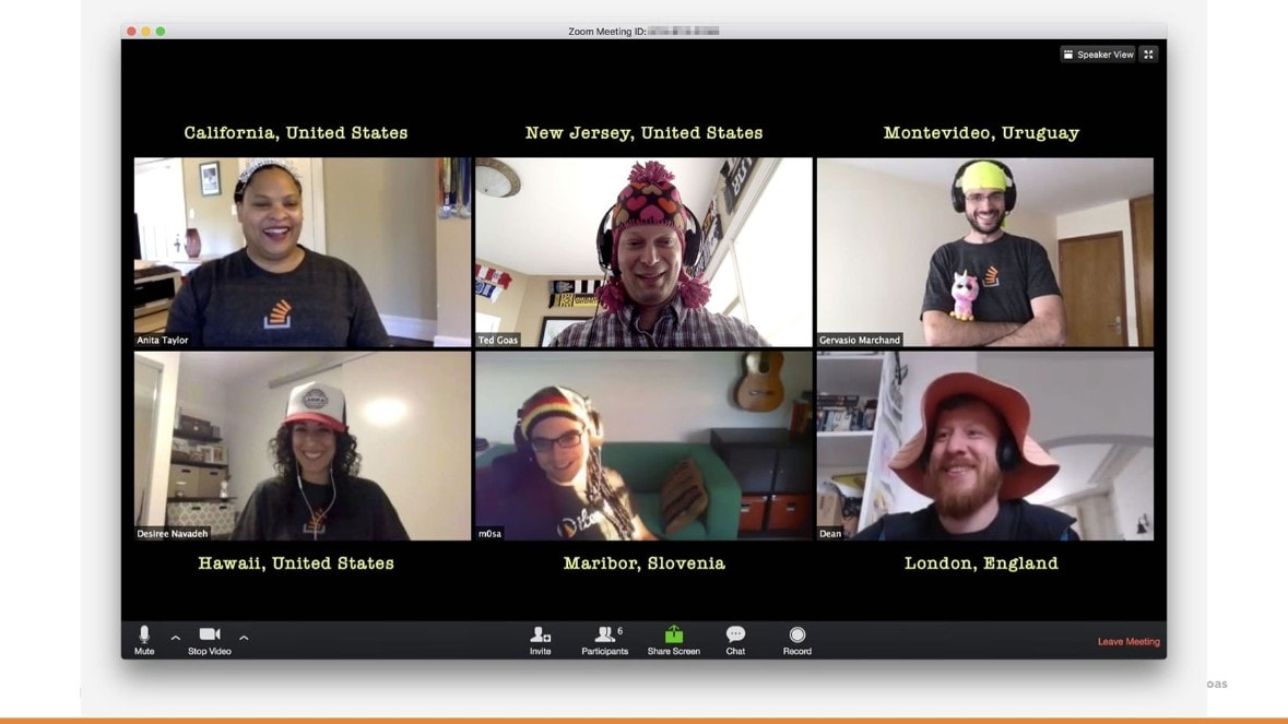 Shipping a big product update over video chat.