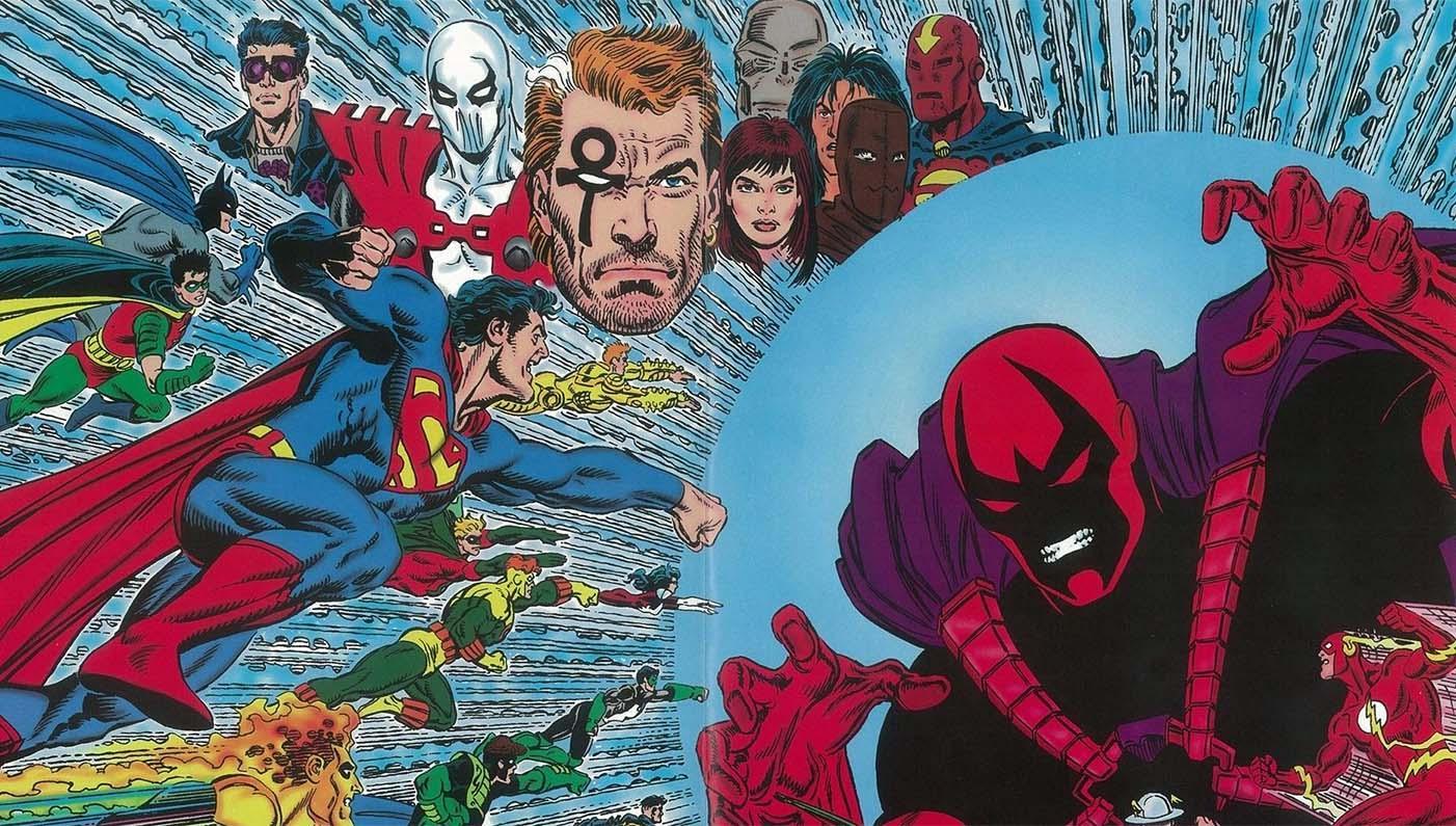 Heróis se unem para combater Extemporâneo na saga Zero Hora da DC Comics