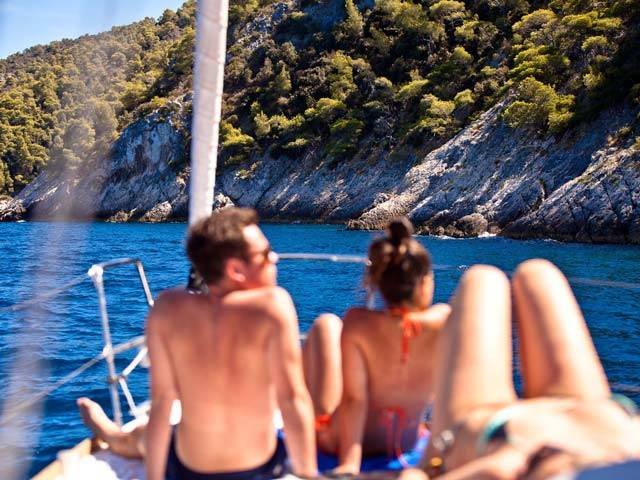 Living it Up in Vela Luka while Sailing Croatia