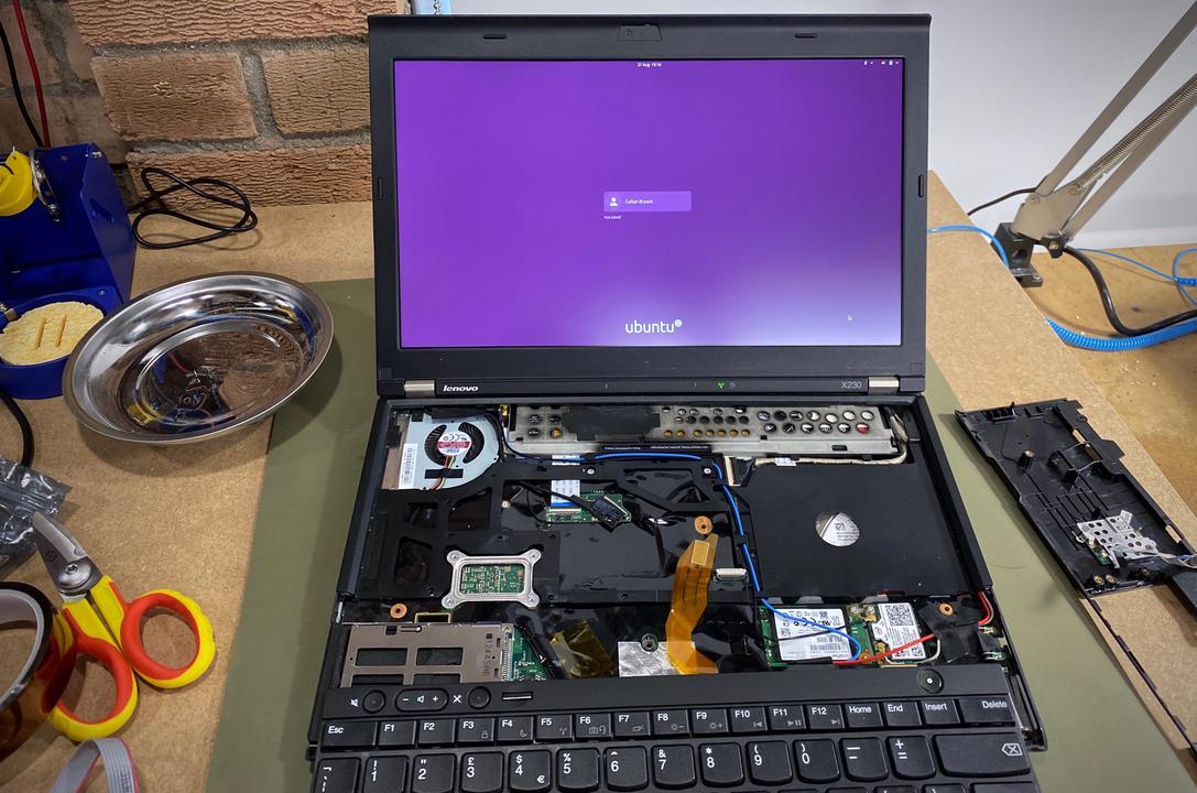 Ubuntu booting correctly with patched coreboot