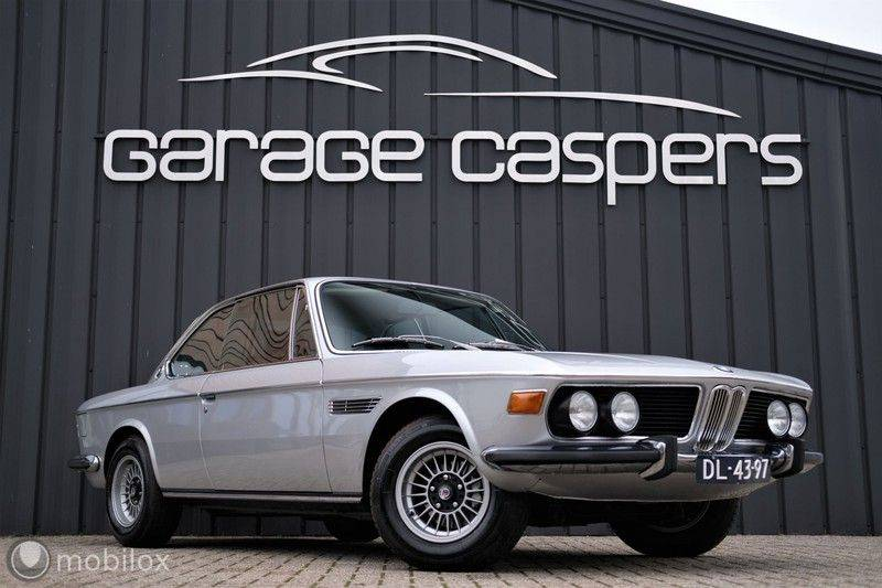 BMW 3.0 CSi coupé | Handgeschakeld | Gerestaureerd afbeelding 2