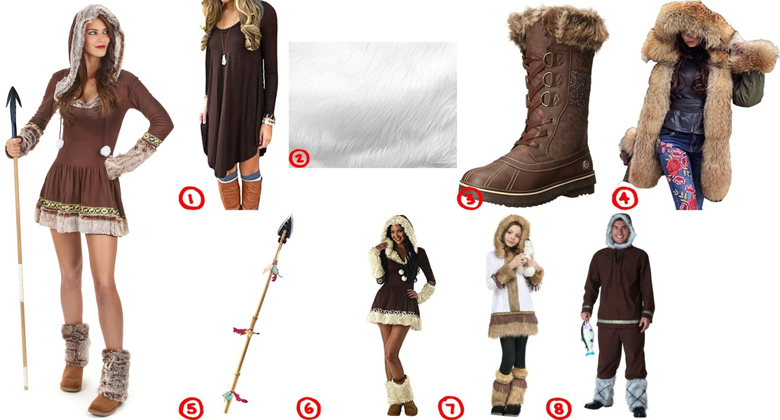 Dress like eskimo costume for cosplay halloween solutioingenieria Choice Image