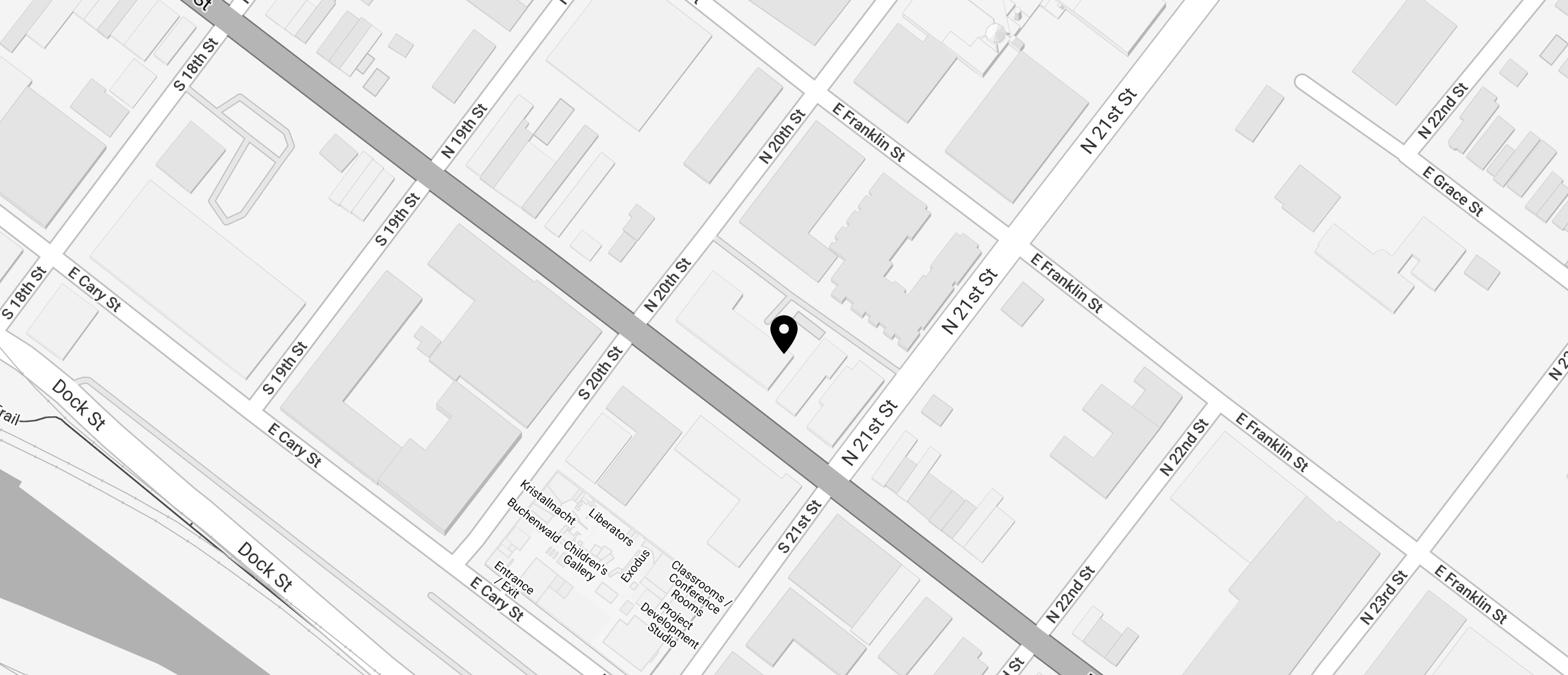 A snippet of a map to Trolley masonry