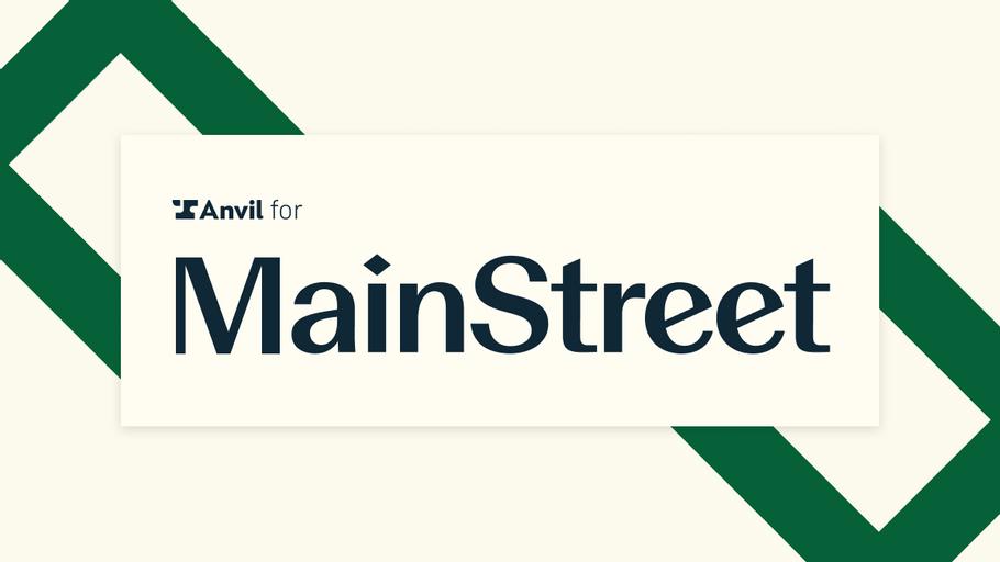 Case Study: Anvil automated - Mainstreet - Logo