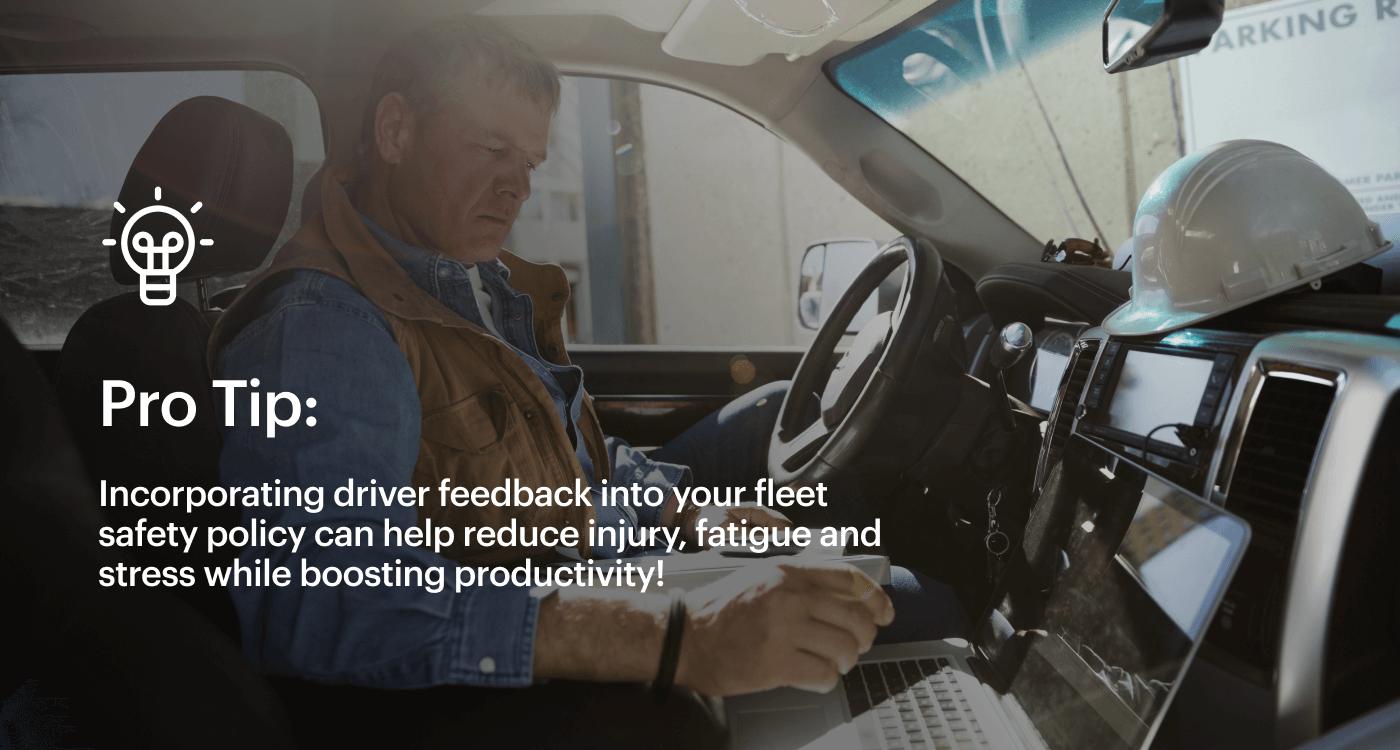 improving driver wellness