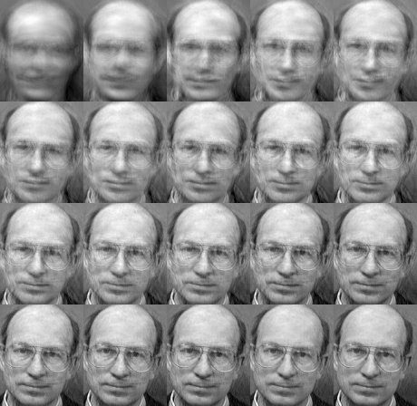 More Eigenfaces