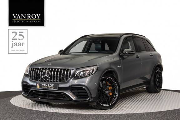 "Mercedes-Benz GLC GLC63s AMG 510pk 4Matic+ Panoramadak Luchtvering Nightpakket DistronicPlus DesignoSportleder+Memory ComandOnline Burmester Carbon AmbientLight Full-Led 21""  360Camera Parktronic Pdc"