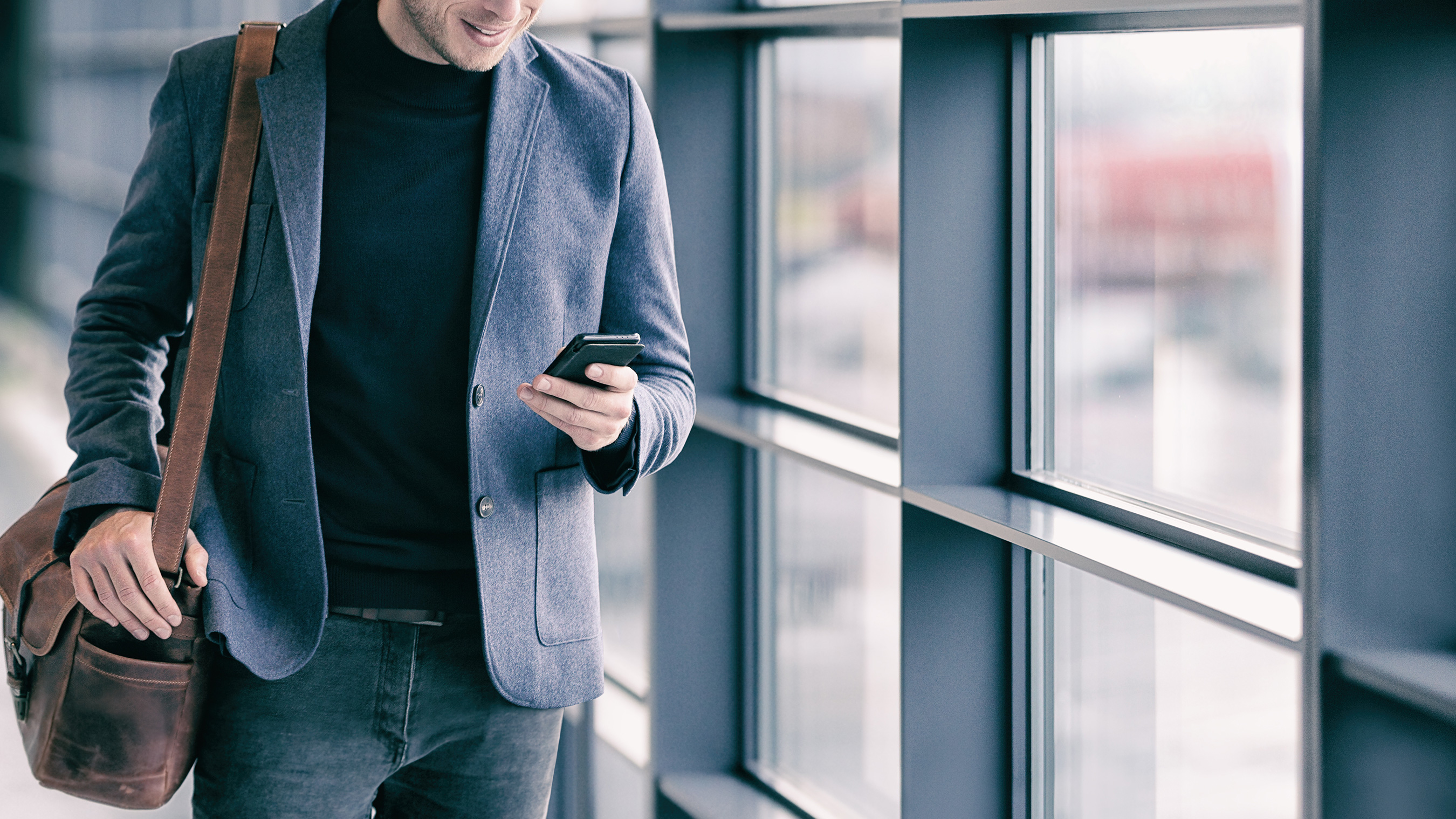 Is texting from a personal mobile phone for business a good idea?