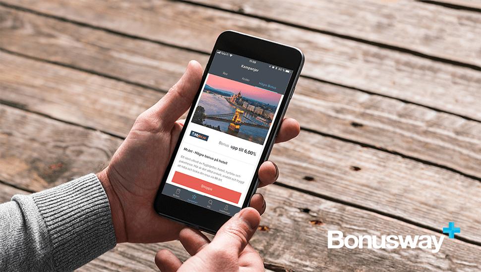 Bonusway -  Spendera pengar samtidigt som du får dem tillbaka!