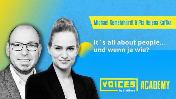 Pia Helena Kaffka & Michael Gemeinhardt: It´s all about people… und wenn ja wie?