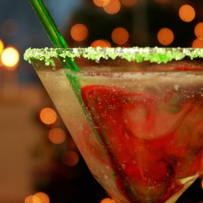 Jamaica Kiss Cocktail