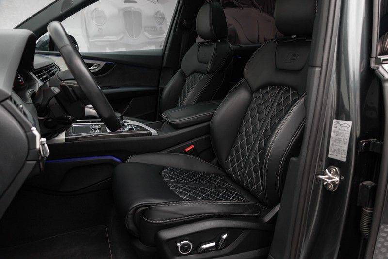 "Audi SQ7 4.0 TDI V8 Quattro 435pk 7 Pers. Panoramadak BlackOptic B&O NightVision Luchtvering ACC ValconaLeder+Memory Matrix Head-Up Navi-High Keyless Trekhaak 22"" Camera Pdc afbeelding 2"