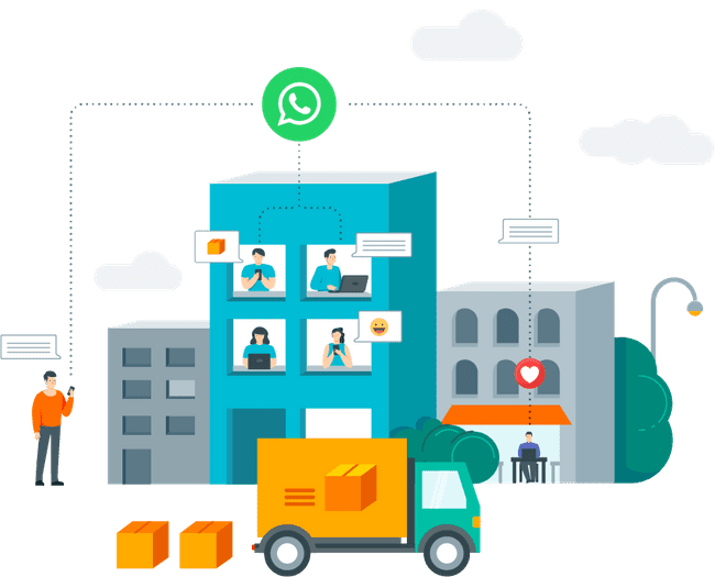 Digitize your team to sell and carry out customer service via WhatsApp