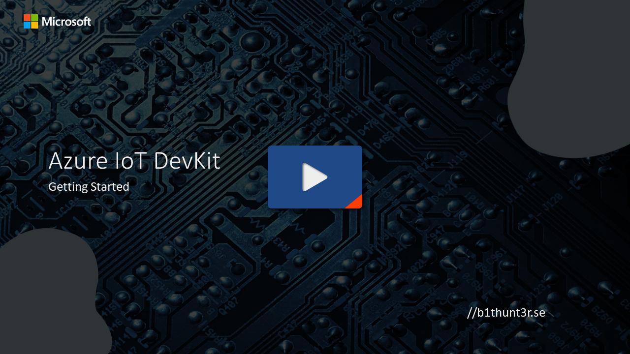 Getting Started - Azure IoT DevKit