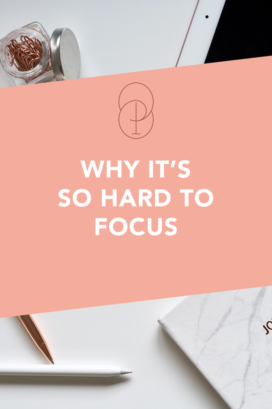 why it's hard to focus