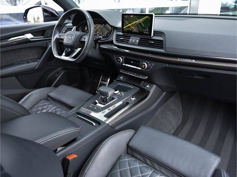 Audi Q5 3.0TDI 286 pk quattro Lucht S-Line Head-Up B&O LED Pano Standk ACC Carbon 21-Inch afbeelding 15
