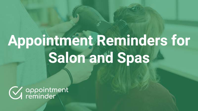 Salon & Spas | AppointmentReminder.com