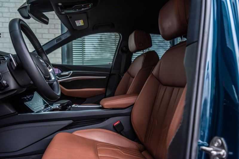Audi e-tron 55 quattro advanced Pro Line Plus, 408 PK, 4% Bijtelling, Luchtvering, Surround View, Stad/Tour Pakket, B&O, EX. BTW!! afbeelding 3